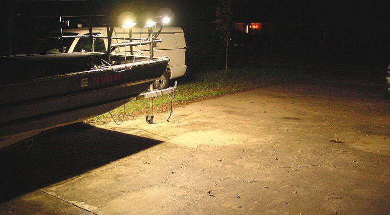Flounder Boat Lights 50w Led Lights For Flounder Gigging