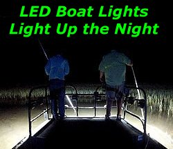 50watt LED Boat Lights