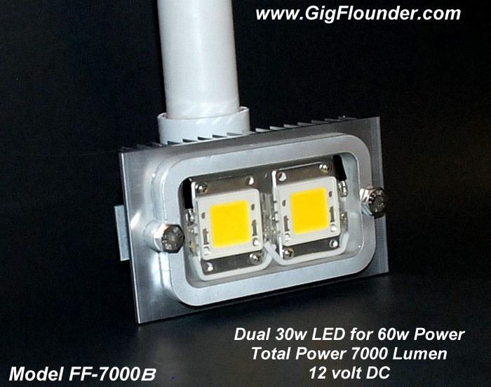 Flounder Boat Lights 60w 12v Underwater Led Lights For