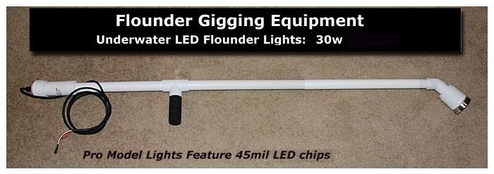 pro30w underwater led flounder gigging lights, led lights for, Reel Combo